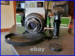 Vintage Graflex XL Rangefinder 6x7cm Camera WithRodenstock 2.8/80mm Lens & Back