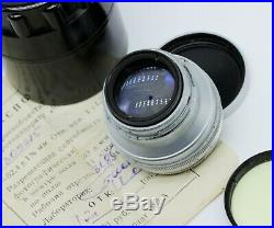 Vintage Jupiter 3 1,5/50 Lens (Kiev, Bessa R2C, Contax RF camera) USSR J3001