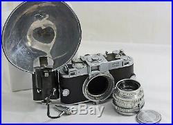 Vintage Kodak Ektra Rangefincer Camera With 50mm F1.9 Lens 1941-48