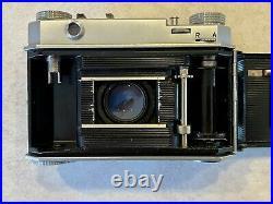 Vintage Kodak Retina II Type 011 folding camera with Kodak Ektar 47mm f/2 lens