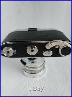 Vintage Kodak Retina Reflex III 35MM Camera & xenon 50mm f1.9 +135