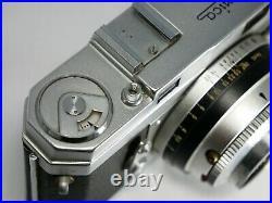 Vintage Konica III Rangefinder Film Camera withf2 Lens Shutter Working #V001b