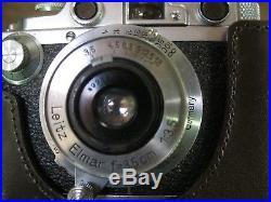Vintage LEICA DRP Camera Ernst Leitz Wetzlar No 179387