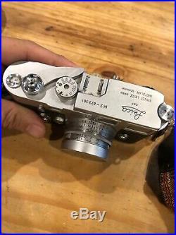 Vintage LEICA M3 35mm RANGEFINDER Film Camera Love Number & Summicron f=5cm Lens