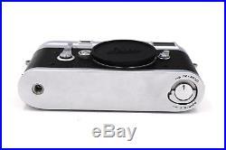 Vintage LEICA M3 DS GMBH DBP 35 mm Rangefinder Camera 1956 Leica CLA Glass Plate
