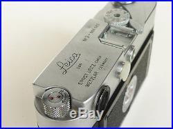 Vintage LEICA M3 RANGEFINDER RF CHROME CAMERA BODY 1959 NEEDS REPAIR