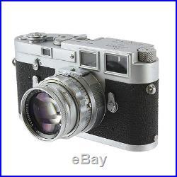 Vintage Leica DBP Erest Leitz Wetzlar M3 1100 367 35mm Film Rangefinder Camera