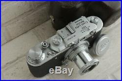 Vintage Leica I D. R. P. Camera Germany & Lens Elmar f3.5/50mm (FED Zorki Copy)