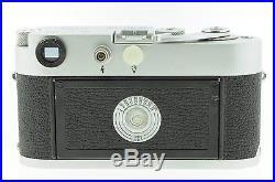 Vintage Leica M2 Ernst Leitz Wetzlar 35mm Rangefinder Camera + Leitz 9cm lens