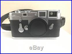 Vintage Leica M3 Double Stroke Film Rangefinder Camera Body Professionally CLAed