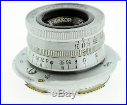 Vintage Leica M3 Ernst Leitz Wetzlar 35mm Film Rangefinder Camera