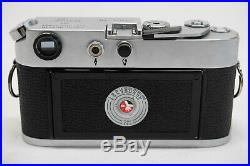 Vintage Leica M4 35mm Rangefinder Film Camera Body Fresh C, L&A