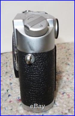 Vintage Leica M4 35mm Rangefinder Film Camera (Body Only), Chrome