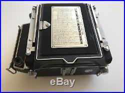 Vintage Linhof Super Technika III Large Format Rangefinder Camera #61204 + Lens