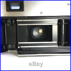 Vintage Minolta Hi-Matic 7s Rangefinder Film Camera 45mm 11.8