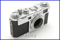 Vintage Near MINT Nikon S2 Camera + Nikkor S. C 5cm f/1.4 50mm Lens From JAPAN