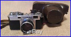Vintage Nikon Nippon Kogaku Camera Nikkor S. C No. 385326 11.4 f=5cm Lens