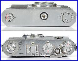 Vintage Nikon Nippon Kogaku S2 Rangefinder Film Camera 5cm f1.4 S-C Lens Manual