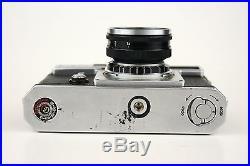 Vintage Nikon Rangefinder Camera with Lens Nippon Kogaku Nikkor-S 11.4 f=5cm