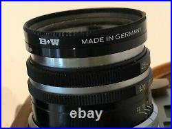 Vintage Olympus 35 S Rangefinder Film Camera in Leather Case