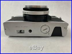 Vintage Olympus 35 SP 35mm Rangefinder MF Film Camera Japan 1687
