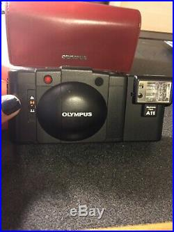 Vintage Olympus XA2 35mm Rangefinder Film Camera (with case) all-electric flash