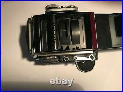 Vintage Plaubel Makina III withAnticomar 100 mm f/2.9 & Lens Cap-Must See Pics