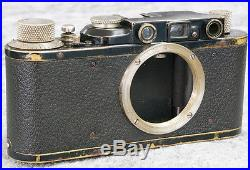 Vintage Rare Leica II nr. 82978 1932 year! With Leitz Elmar 13.5 F=50mm