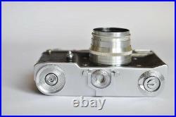 Vintage Russian Rangefinder Photo Camera LENINGRAD Lens Jupiter 8
