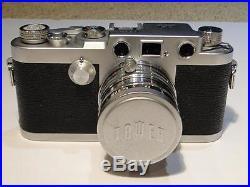 Vintage Tower Nicca Camera 151266 With Nikkor 12 f=5cm Kogaku Lens