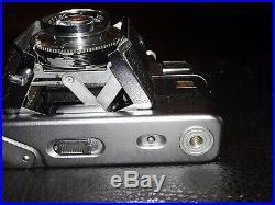 Vintage Voigtlander Vitessa Film Camera With Synchro Compur Ultron 13 50mm Lens