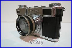 Vintage Zeiss Ikon CONTAX (543/24) 35mm rangefinder camera