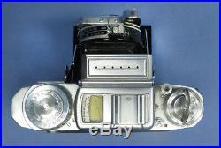 Vintage Zeiss Ikon Super Ikonta 533/16 Film Camera withTessar 80/2.8 Lens & Case