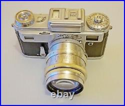 Vintage camera Kiev 4 (type 3) + Jupiter 9 2/85 lens 1970