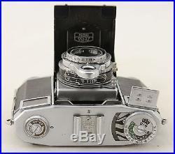 Vintage camera Zeiss Ikon Contessa 35, lens T Zeiss Opton Tessar 2,8/45mm