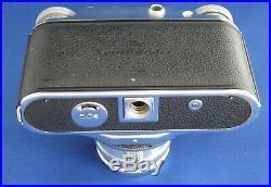 VoigtLander Prominent Range Finder Camera With NOKON 11.5/50 Lens