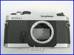 Voigtländer BESSA-L Bessa L M39mm Sucherkamera chrom funktionsfähig working