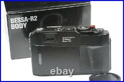 Voigtlander BESSA R2 camera body, M Leica mount, rangefinder camera
