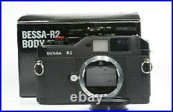 Voigtlander BESSA R2 camera body, M Leica mount, rangefinder camera, boxed
