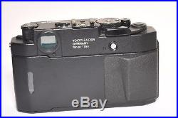 Voigtlander BESSA R3A rangefinder camera, boxed in VGC