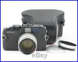 Voigtlander Bessa R 35mm Black Camera with Nokton 1.5/50 mm Aspheric