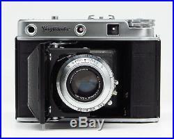 Voigtländer Perkeo E or III with skopar 13.5 80mm Fine vintage condition