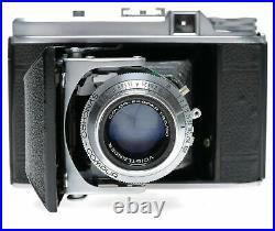 Voigtlander Perkeo II 6x6 Format Folding Camera Color-Skopar 3.5/80