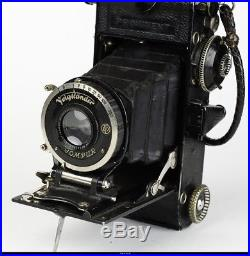 Voigtlander Prominent 6x9 With Heliar 4.5/10,5cm