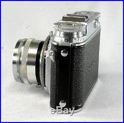 Voigtlander Prominent #B31316, Ultron 2/50 mm, Synchro Compur Shutter
