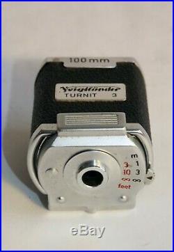 Voigtlander Prominent-I kit with Ultron 50/f2, Skoparon 35/f3.5, Dynaron 100/f4.5+
