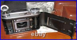 Voigtlander Prominent Nokton Camera 11.5/50mm Lens with Certificate & Manual