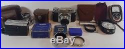 Voigtlander Prominent Rangefinder Camera Nokton f1.5 50mm lens Plus Extras