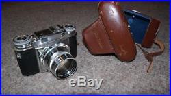 Voigtlander Prominent Rangefinder Film Camera with Nokton 50mm f/1.5 & Case