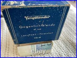 Voigtlander Prominent Ultron 12/50 Camera+Lens, Cap, UV Filter, Hood, Case